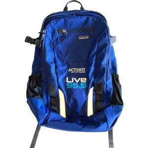 Patagonia Aysen Backpack Blue Black Logo Hiking